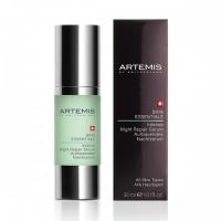 Восстанавливающая ночная сыворотка для лица Artemis Skin Essentials
